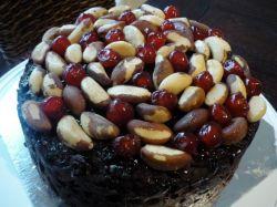 Amy's boozy Xmas cake