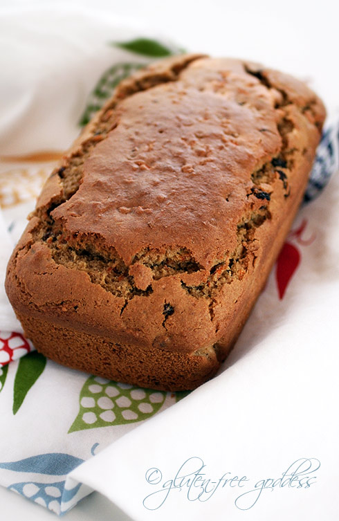 Gluten-free carrot bread with Chai spices