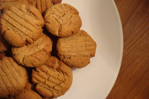 Maple and almond cookies