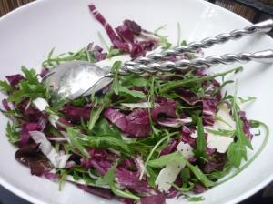 Jamie Oliver's radicchio and rocket salad