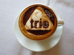 KIller cappacino at Trio Cafe