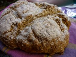 Wheat and dairy-free soda bread